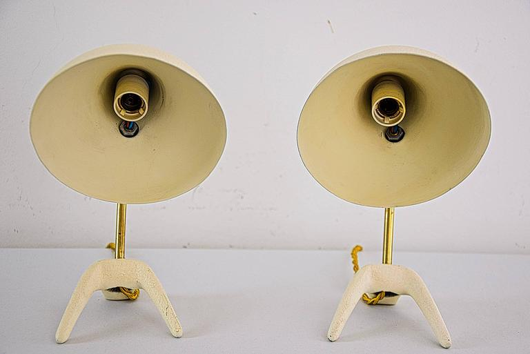 Dutch Small Table Lamps by Louis Kalff for Philips For Sale