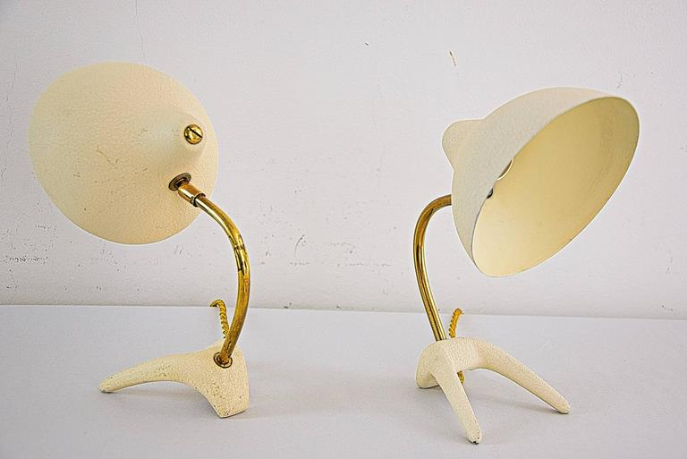 Mid-20th Century Small Table Lamps by Louis Kalff for Philips For Sale