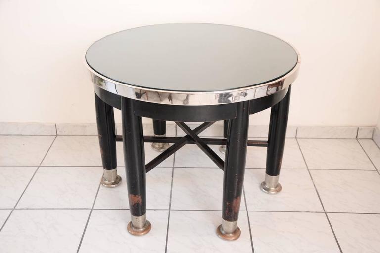 Adolf Loos Round Haberfeld Table For Sale 2