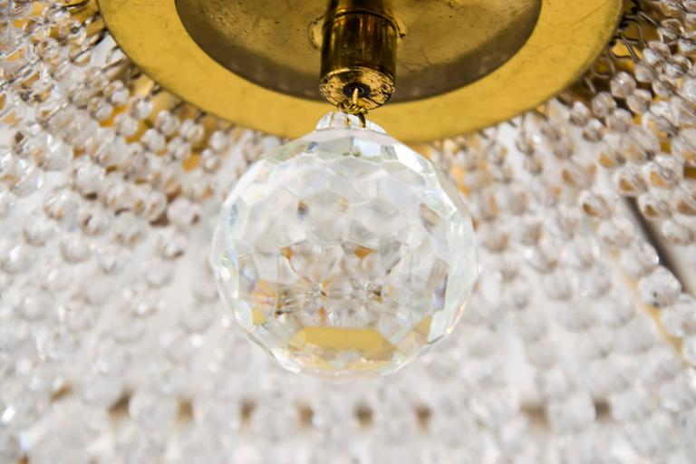 Big Chandelier by Bakalowits, circa 1960s In Excellent Condition For Sale In Wien, AT