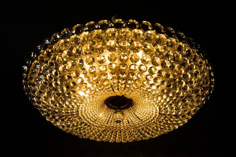 Big Chandelier by Bakalowits, circa 1960s For Sale 1