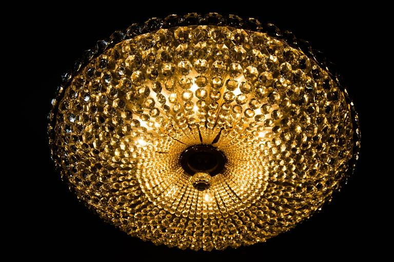Big Chandelier by Bakalowits, circa 1960s For Sale 3