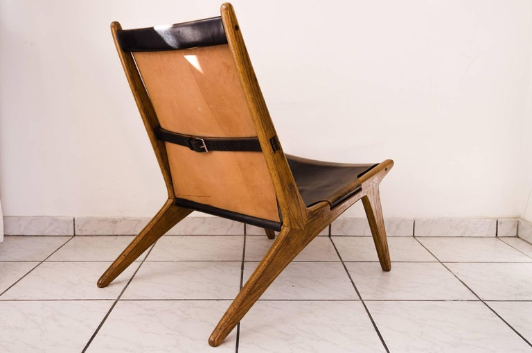 Swedish Hunting Chair by Uno & Östen Kristiansson For Sale