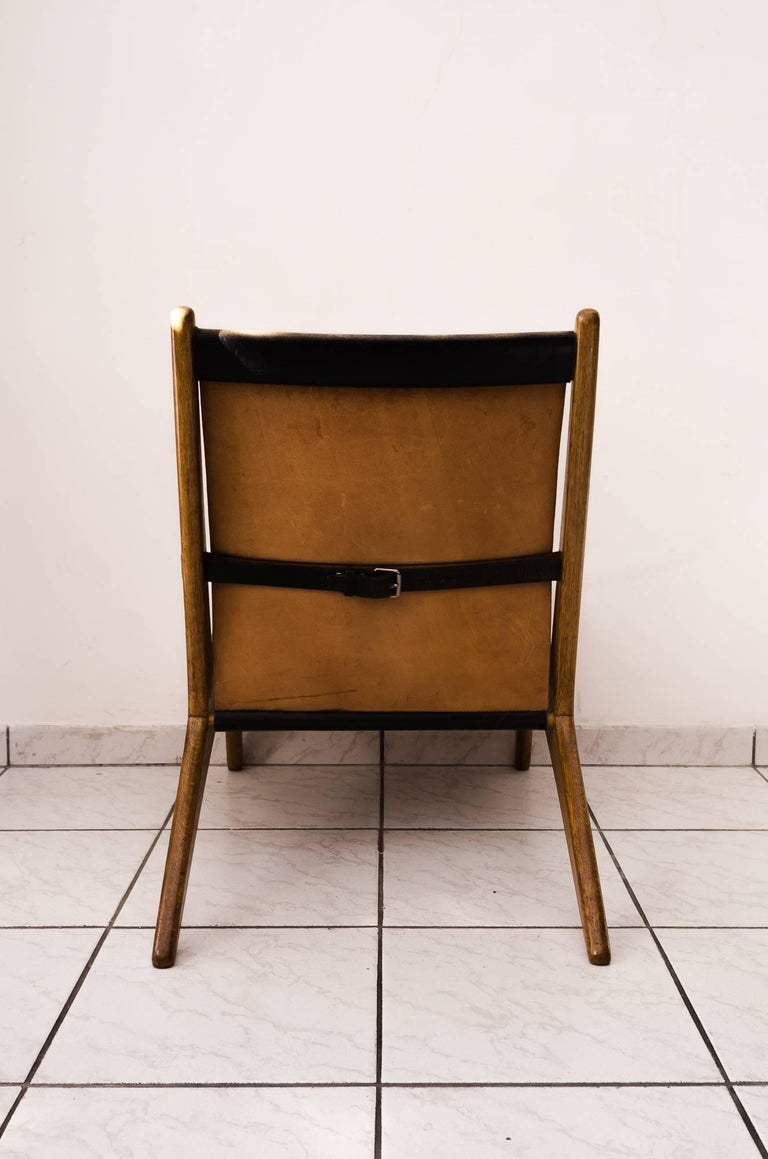 Hunting Chair by Uno & Östen Kristiansson In Excellent Condition For Sale In Wien, AT