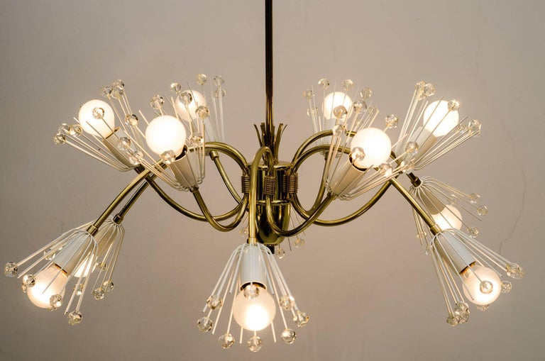 Beautiful chandelier by Emil Stejnar for Rupert Nikoll