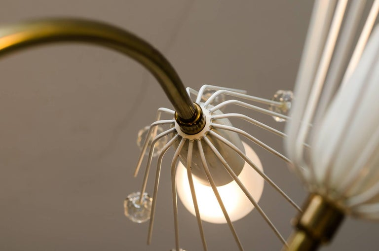 Beautiful Chandelier by Emil Stejnar for Rupert Nikoll For Sale 3