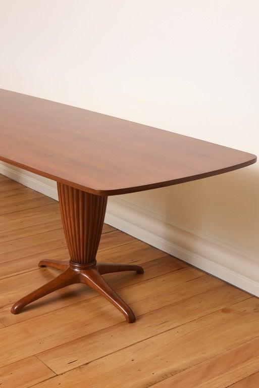 Italian Modern Mahogany Dining Table by Jannace For Sale  : DSC0404l from www.1stdibs.com size 513 x 768 jpeg 44kB