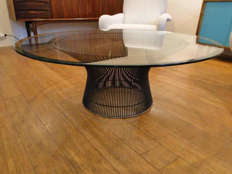 warren platner coffee table at 1stdibs