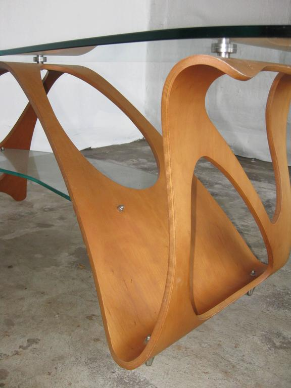 Carlo Mollino Coffee Table Zanotte In Excellent Condition For Sale In Heesch, NL