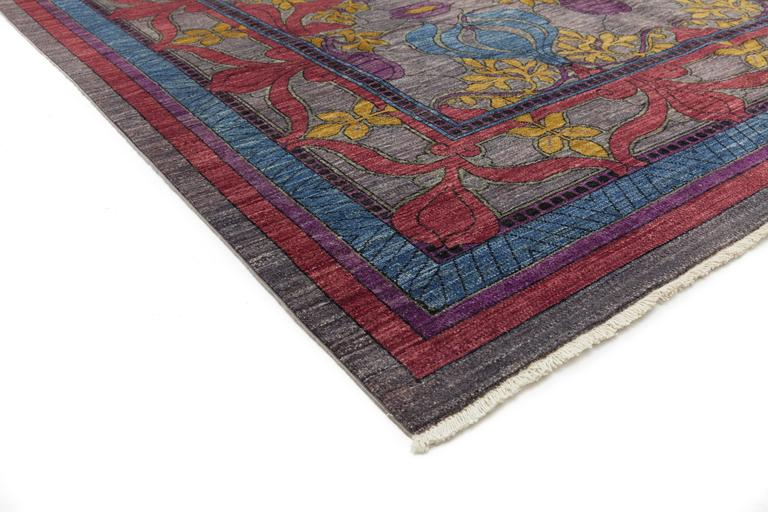 Arts and crafts area rug solo rugs for sale at 1stdibs for Arts and crafts carpet