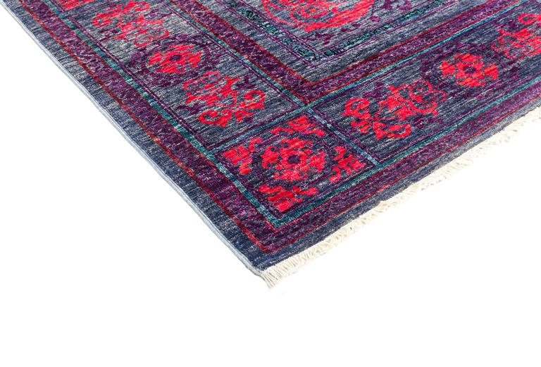 Purple Eclectic Area Rug, Solo Rugs For Sale At 1stdibs