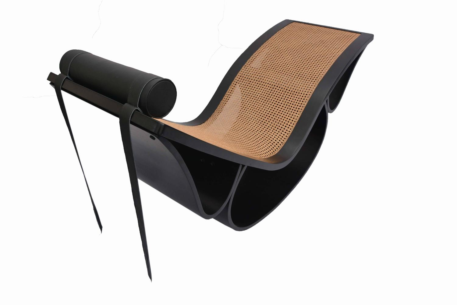 vintage rio chaise longue by oscar niemeyer for sale at