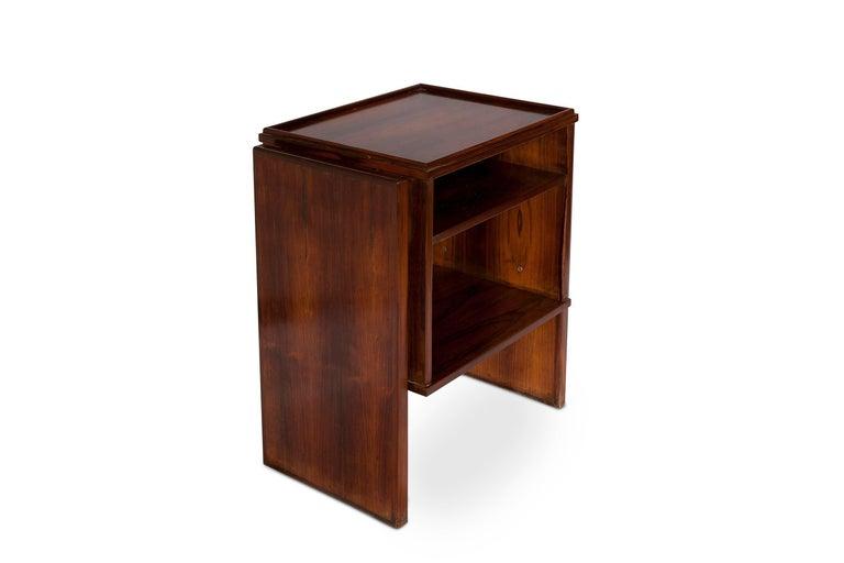 Pair of Brazilian Rosewood Side Table by Joaquim Tenreiro 2