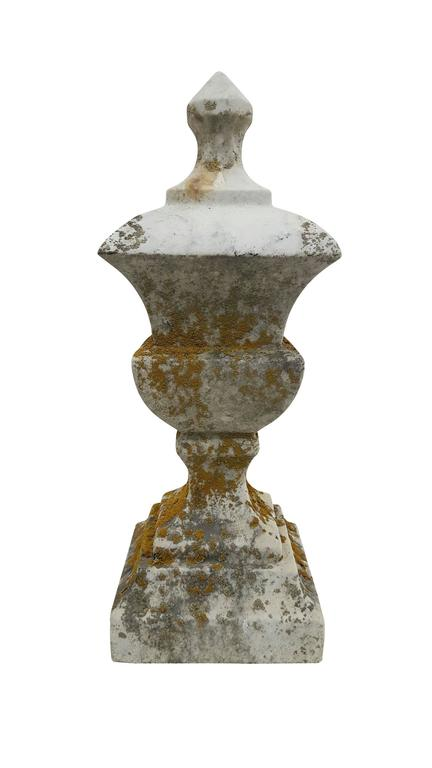 19th Century White Marble Finial - Sculpture 2
