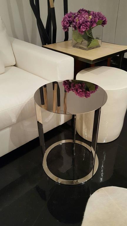 """Beautiful slim side table. Measures: 15""""."""