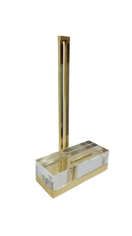 Mies Easel By Michael Dawkins in Brass 2