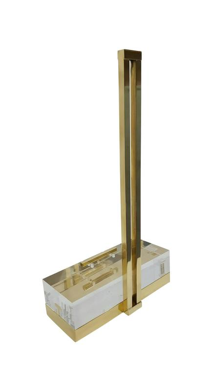 Mies Easel By Michael Dawkins in Brass 4