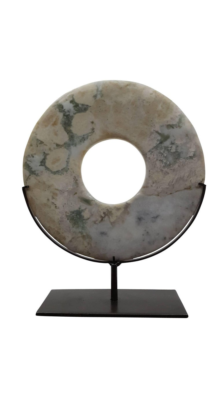 Modern Sopanite Stone Disk - A For Sale