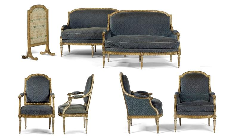 Exceptional french louis xvi salon for sale at 1stdibs - Salon louis xvi ...