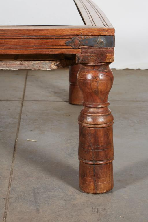 Indian Teak Coffee Table at 1stdibs