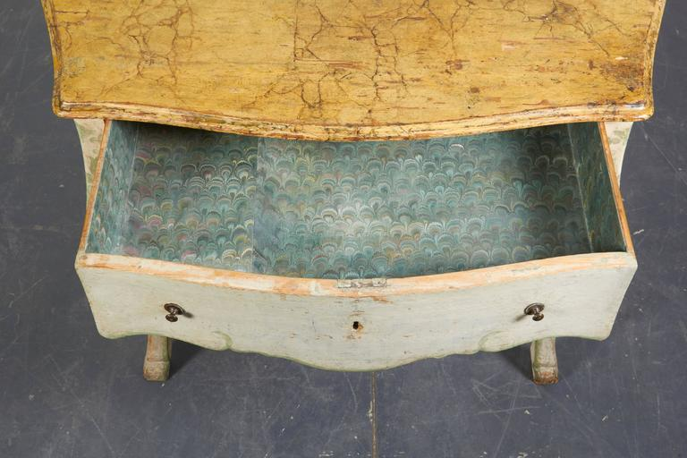 Pair of 19th Century Louis XV Style Painted Console Tables For Sale 3