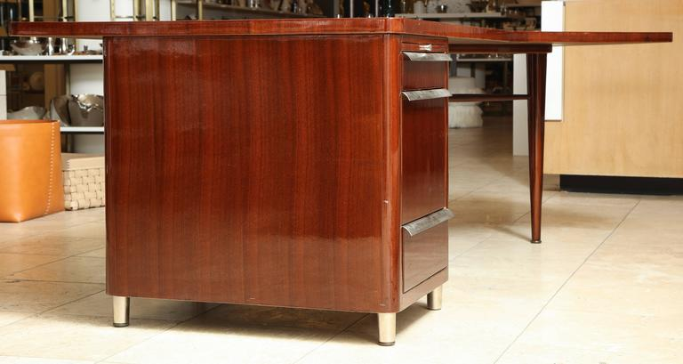 Mid Century Stow And Davis Walnut Executive S Desk For