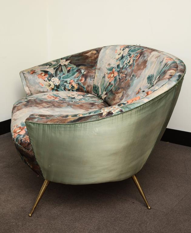 Mid-20th Century Ico and Luisa Parisi Mid-Century Modern Settee For Sale