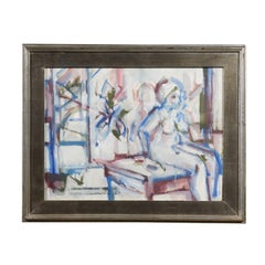 Abstract Female Nude Figure, Ira Davidoff