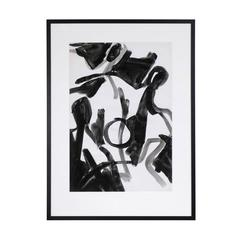 Jacques Nestle Large Abstract Framed Painting