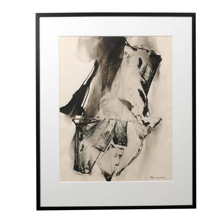 Untitled Abstract by Matsumi Kanemitsu For Sale