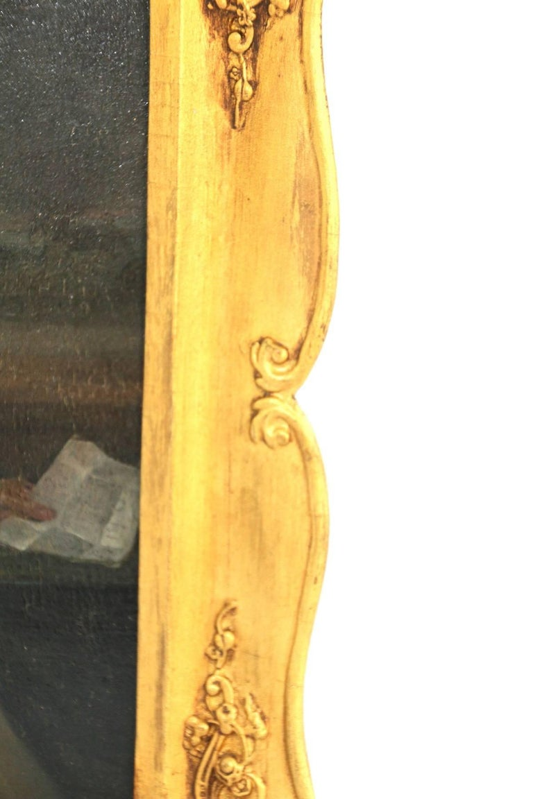 Late 18th Century Oil on Board Portrait of a Gentleman For Sale 1