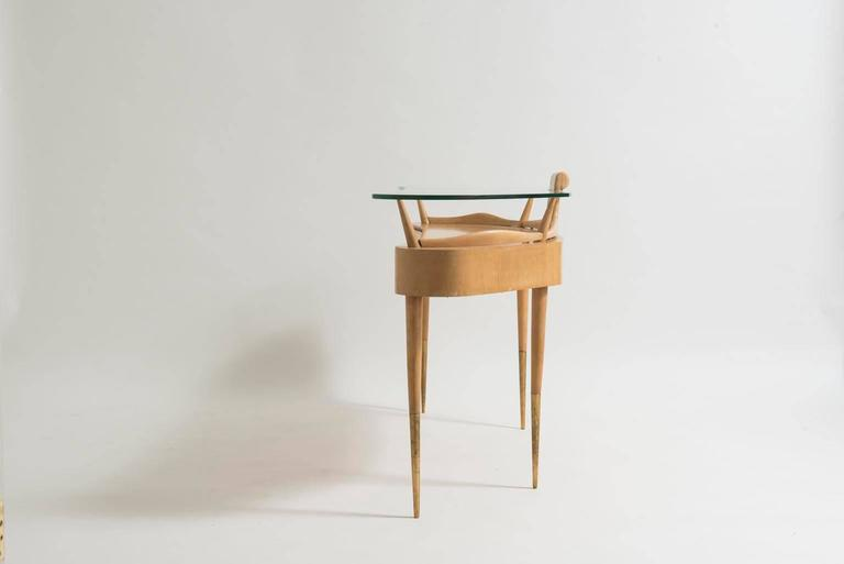 Italian Mid-Century Modern Dressing Table Attributed to Gio Ponti In Good Condition For Sale In Houston, TX