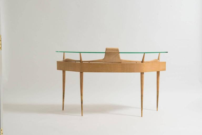 20th Century Italian Mid-Century Modern Dressing Table Attributed to Gio Ponti For Sale