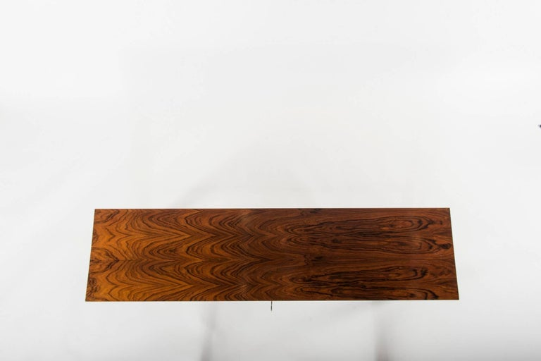Modern Bolivian Rosewood Long Chest For Sale