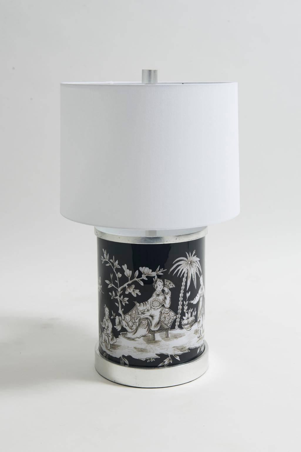 A Chic And Modern Chinoiserie Lamp From Liz Marshu0027s Old Money Collection.  This Beautiful Black