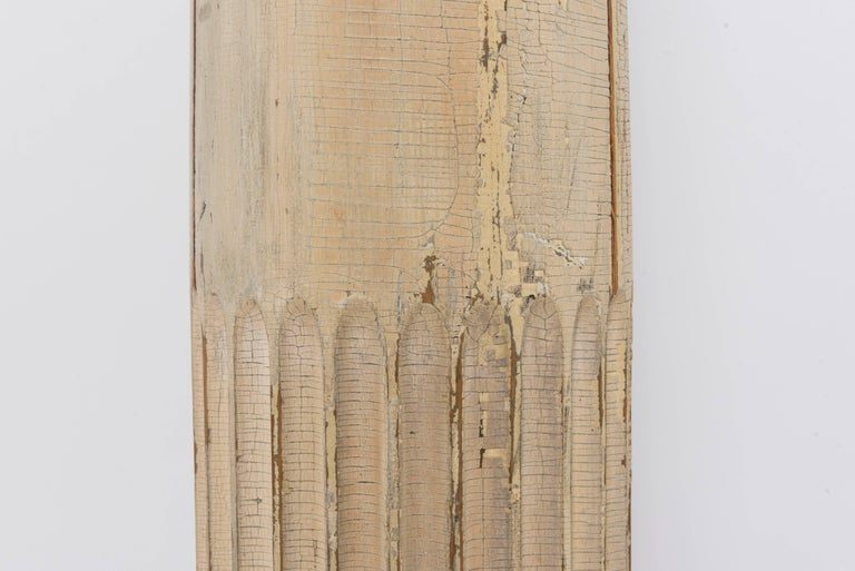 Neoclassical 19th Century Fluted Wood Columns For Sale