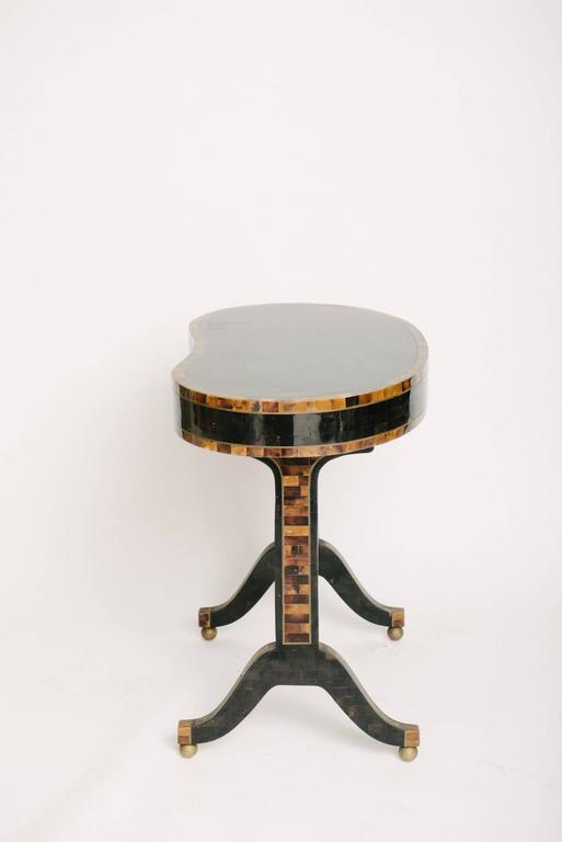 Veneer Maitland-Smith Horn Table For Sale