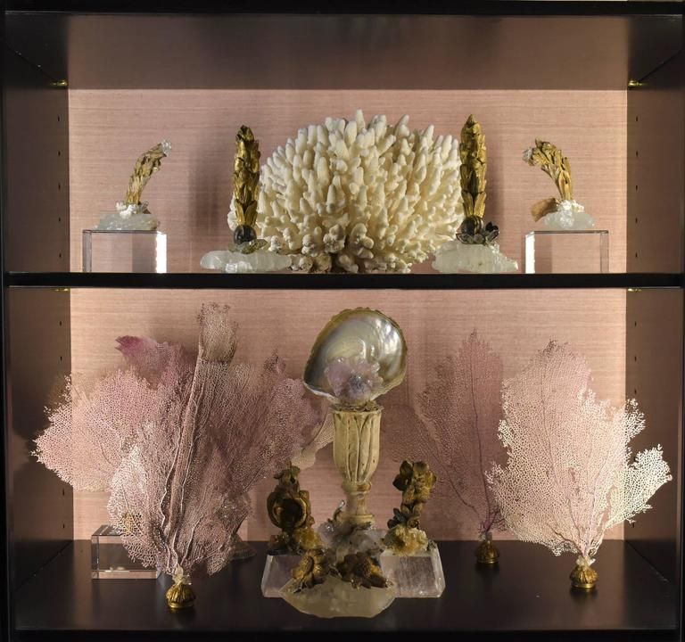 Pair of 18th Century Quartz Giltwood Fragments In Excellent Condition For Sale In Houston, TX