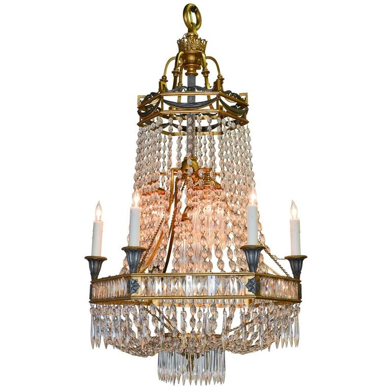 19th Century French Neoclassical Chandelier