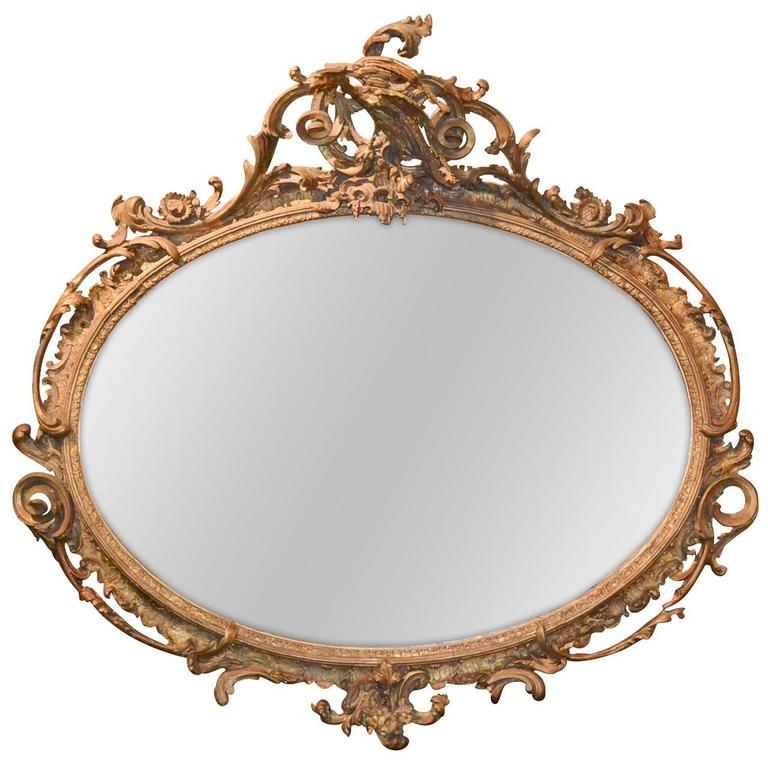 19th Century English Chippendale Mirror