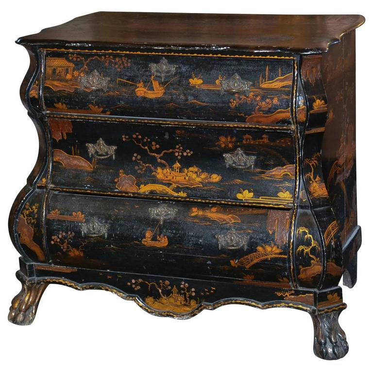 18th Century Dutch Chinoiserie Commode For Sale - 18th Century Dutch Chinoiserie Commode For Sale At 1stdibs