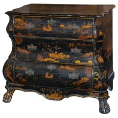 18th Century Dutch Chinoiserie Commode