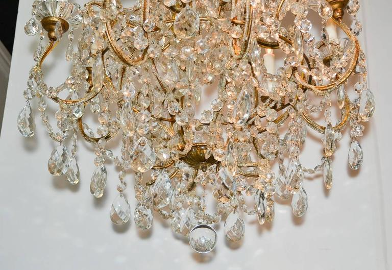 Lovely French Crystal Chandelier For Sale At 1stdibs