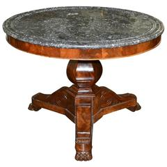 19th Century French Charles X Centre Table