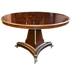 19th Century English Regency Center Table
