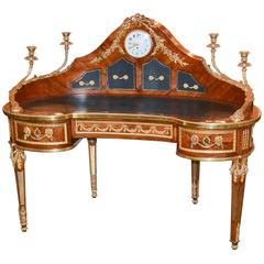 Extraordinary 19th Century French Louis XVI Style Desk
