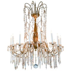 Outstanding 19th Century Italian Chandelier