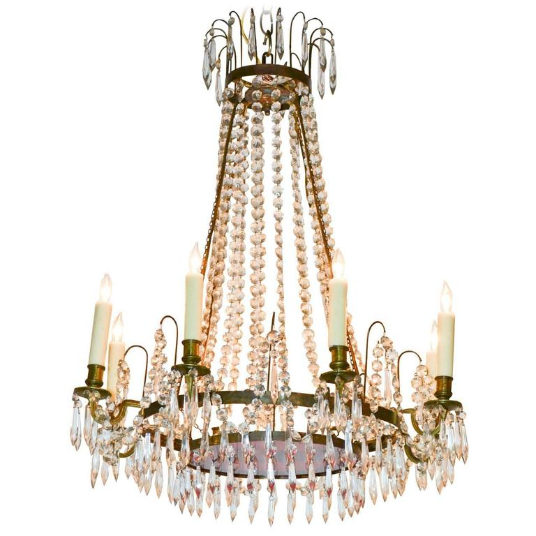 19th Century Baltic Chandelier For Sale At 1stdibs