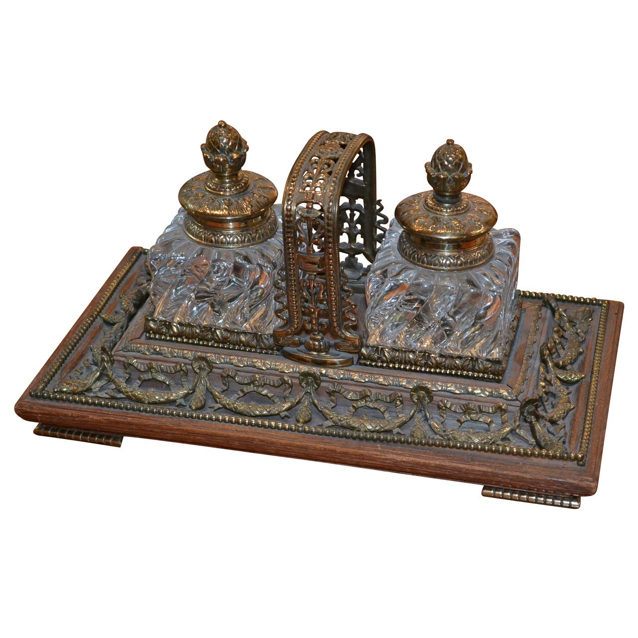 French Inkwell, circa 1880