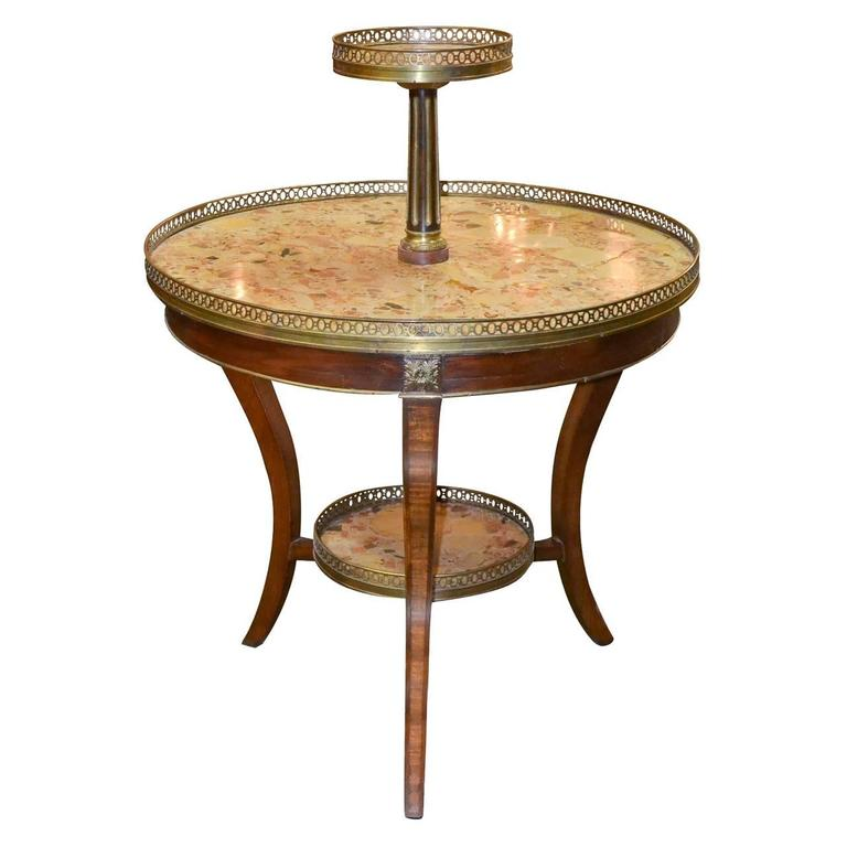 Unusual 19th Century French Dessert Table